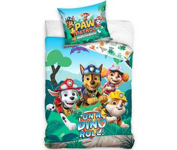 PAW Patrol Duvet cover On a Dino roll 140 x 200 Cotton
