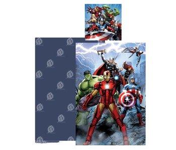 Marvel Avengers Dekbedovertrek Hero 140 x 200 Katoen