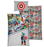 Marvel Avengers Housse de couette Comics - Simple - 140 x 200 cm - Coton Bio