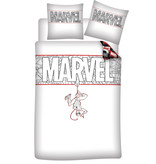 Housse de couette SpiderMan - Simple - 140 x 200 cm - Coton Bio