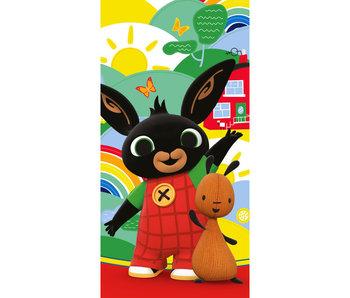 Bing Bunny Serviette de plage Flop 70 x 140 cm Coton