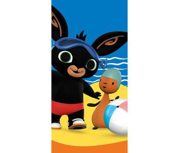 Bing Bunny Serviette de plage Beach 70 x 140 cm Coton