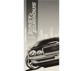 The Fast and the Furious Serviette de plage 70 x 140 cm Coton