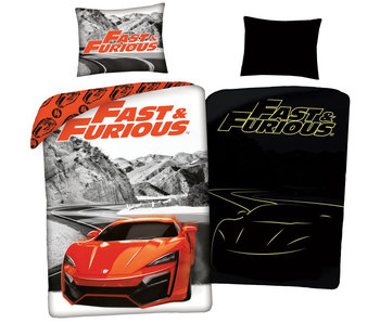 The Fast and the Furious Housse de couette Glow in the Dark 140 x 200 cm + 70 x 90 cm coton