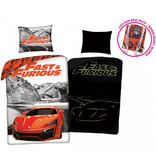 The Fast and the Furious Housse de couette Glow in the Dark - Simple - 140 x 200 cm - coton