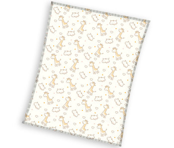Animal Pictures Couverture polaire Girafe 120 x 150 cm