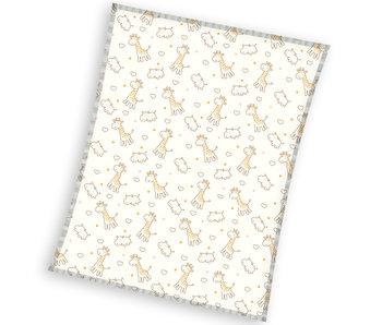 Animal Pictures Fleece blanket Giraffe 120 x 150 cm