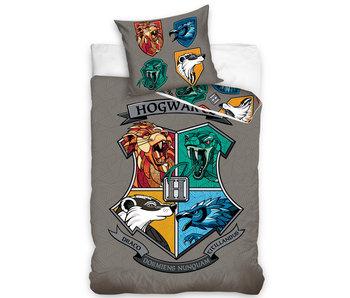 Harry Potter Housse de couette Géométrique 140 x 200 Coton
