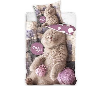 Animal Pictures Dekbedovertrek Kitten 140 x 200 Katoen