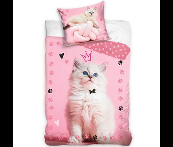 Animal Pictures Dekbedovertrek Queen Kitten 140 x 200 Katoen