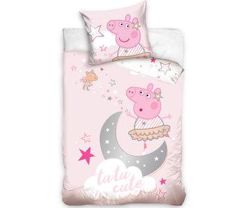 Peppa Pig Housse de couette BABY Tutu Cute 100 x 135 cm