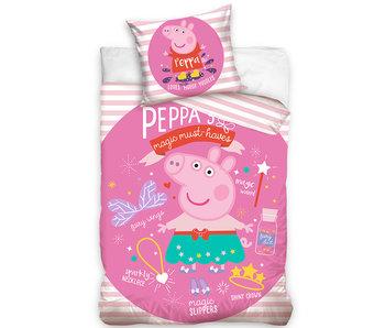 Peppa Pig Housse de couette Magic Must-Haves 140 x 200 Coton