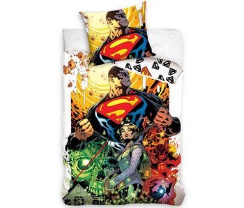 Superman Dekbedovertrek Comic Hero 140 x 200 Katoen
