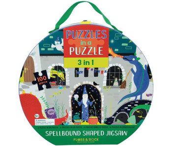Floss & Rock 3-in-1 Spellbound Puzzel 100 st.