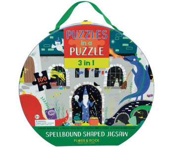 Floss & Rock Puzzle Spellbound 3 en 1 100 pcs.