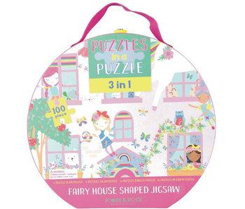 Floss & Rock 3-in-1 Fairy Puzzel  100 st.