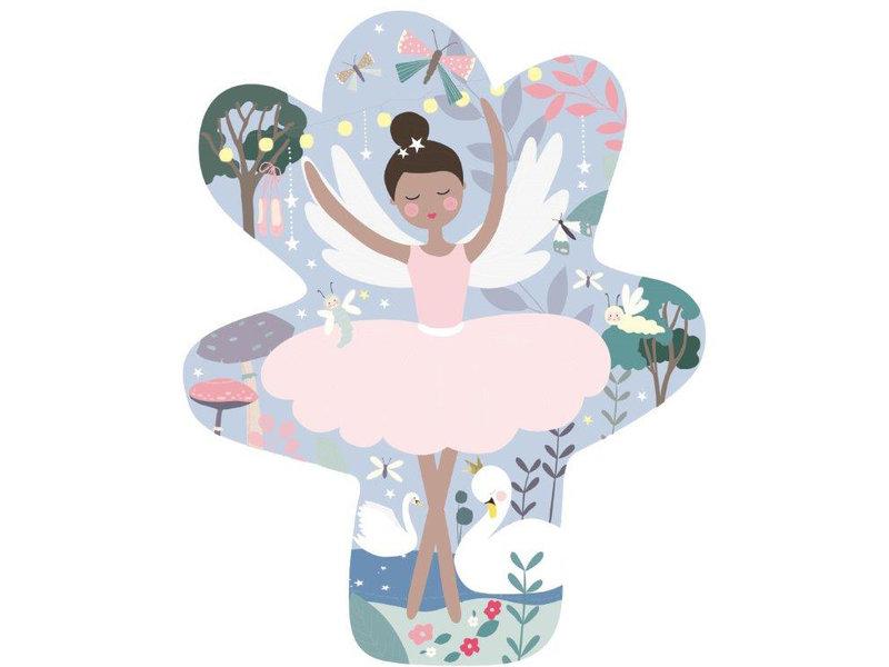 Floss & Rock Ballerina Puzzel 12 st. - 28 x 28 cm