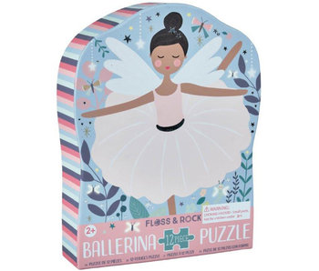 Floss & Rock Ballerina Puzzle 12 pcs.