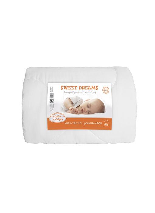 Sweet Dreams baby dekbed 100 x 135 cm 40 x 60 cm