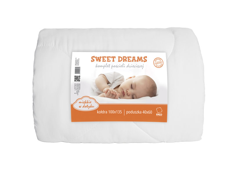 Sweet Dreams BABY dekbed - 100 x 135 cm / 40 x 60 cm - Polyester