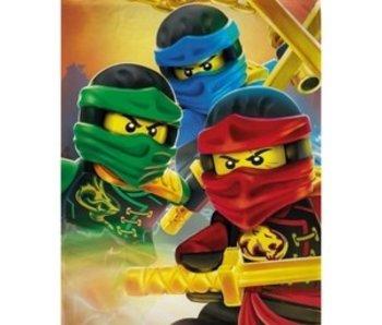 Lego Fleecedeken Ninjago 130 x 170 cm
