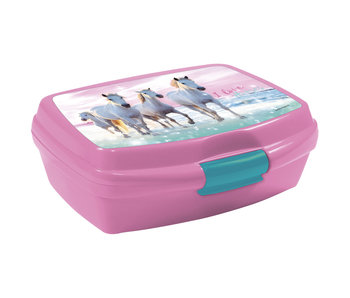 Animal Pictures Lunchbox I Love Horses - 16 cm