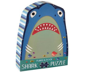 Floss & Rock Puzzle Requin 12 pcs.