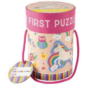 Floss & Rock Puzzles Licorne 4 pièces