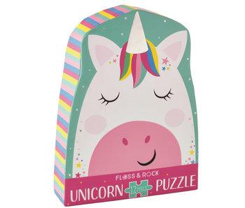 Floss & Rock Unicorn Puzel 12 st.