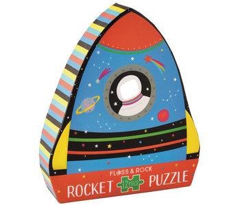 Floss & Rock Raket Puzzel 12 st.