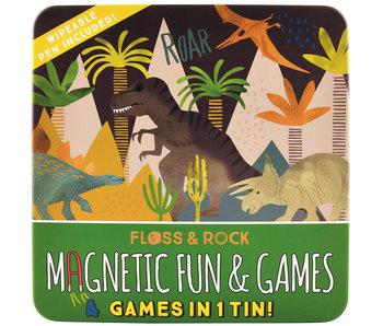 Floss & Rock Boîte de jeu Dinosaure 4 en 1