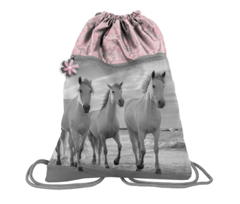 Animal Pictures Gymbag Paarden 45 x 34 cm