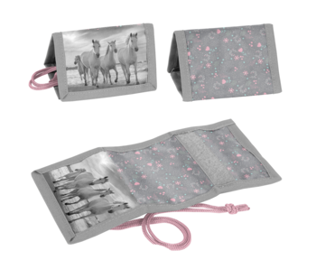 Animal Pictures Wallet Horses 12 cm