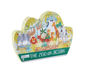 Floss & Rock Puzzle Zoo 80 pcs.