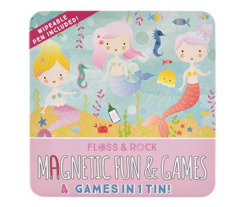 Floss & Rock Game box Mermaid 4-in-1
