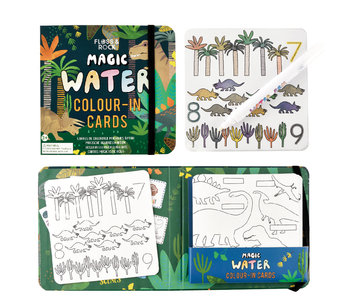 Floss & Rock Dino Water color cards