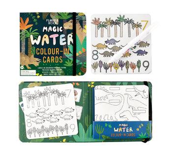 Floss & Rock Dino Water kleur kaarten