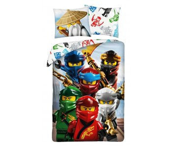 Lego Housse de couette Ninjago 140 x 200 Coton