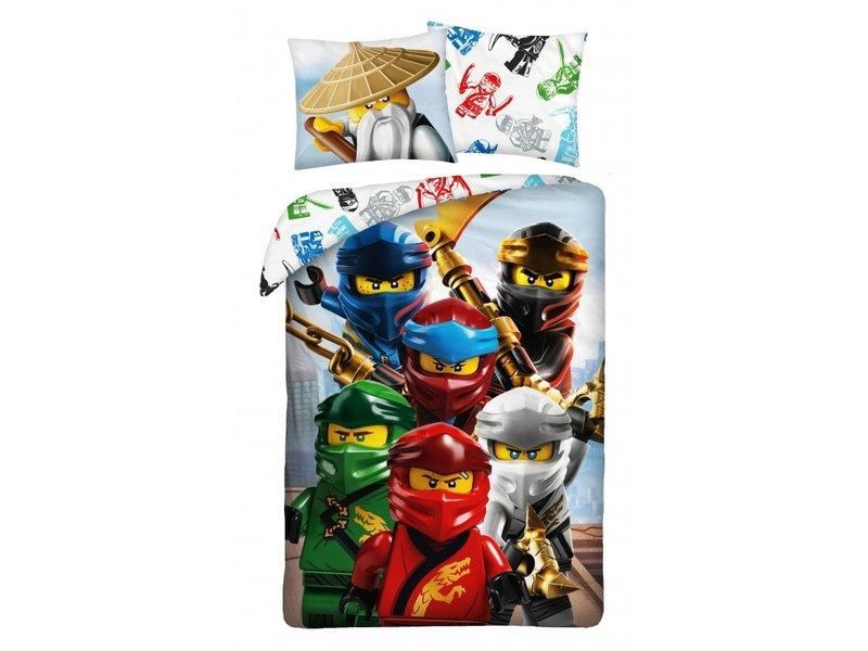 Lego Housse de couette Ninjago - Simple - 140 x 200 cm - Coton
