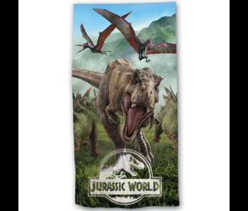 Jurassic World Strandlaken Forest 70 x 140 cm