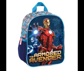 Marvel Avengers Sac à dos enfant Armored 3D 28 x 22 cm