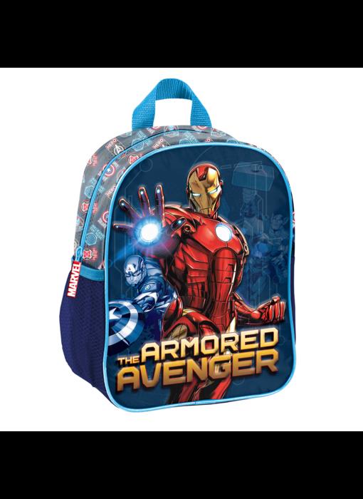 Marvel Avengers Peuterrugzak Armored 3D 28 x 22 cm