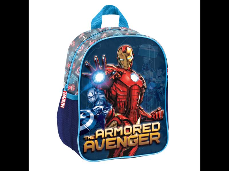 Marvel Avengers Peuterrugzak Armored 3D - 28 x 22 x 10 cm - Polyester