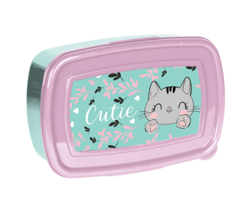 Animal Pictures Lunch box Cat 18 cm