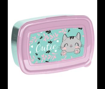 Animal Pictures Lunchbox Cat 18 cm