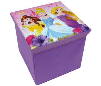 Disney Princess Spielzeugkiste Hocker Faltbar 31 cm