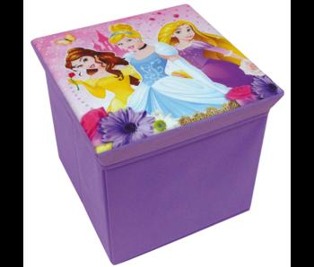 Disney Princess Toy box Stool Foldable 31 cm