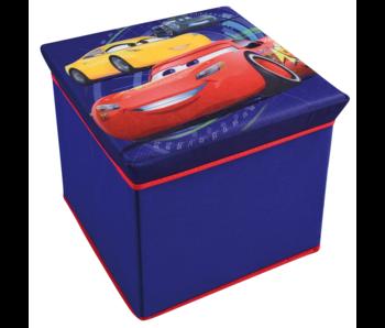 Disney Cars Coffre à jouets Tabouret Pliable 31 cm