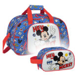 Disney Mickey Mouse Sports bag Set Things - Sports bag and Toilet bag - Polyester