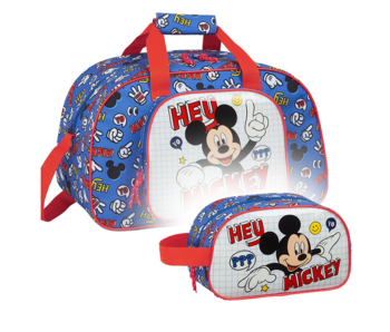 Disney Mickey Mouse Sports bag Set Things - Sports bag and Toiletry bag
